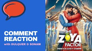 Cover images Dulquer Salmaan & Sonam Kapoor react on ZOYA FACTOR trailer comments | Mirchi Prerna