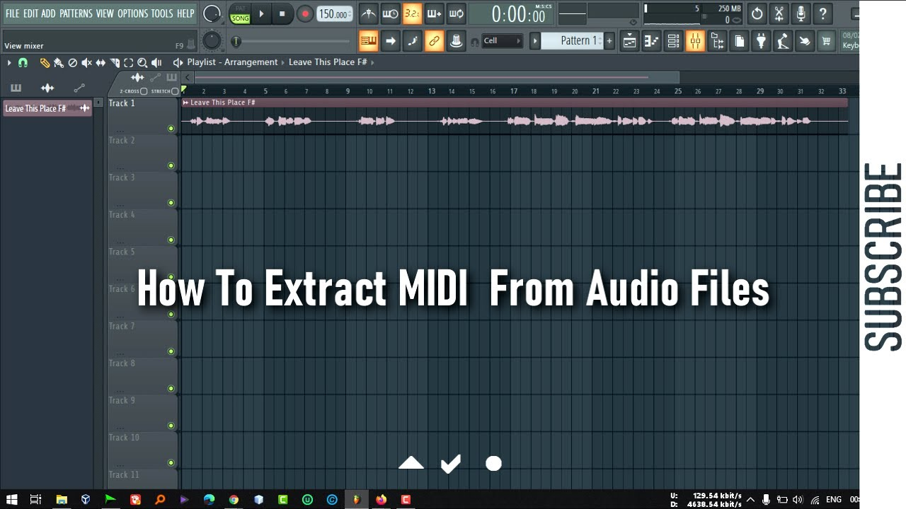 Download How To Extract MIDI From Any Audio File In FL Studio 20