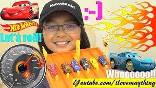 Disney CARS Racing Elimination Tournament! Hot Wheels Speedometer FASTEST SPEED Race #43