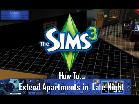 How To Extend Apartments In The Sims 3 Late Night