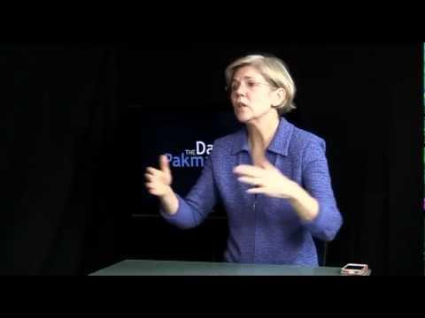 Elizabeth Warren on Being 1%, Scott Brown, Occupy - FULL INTERVIEW