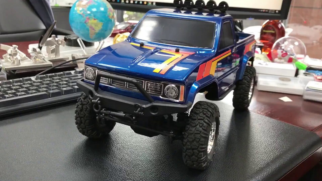 Toyota Pickup 4x4 >> Thunder Tiger Toyota 1979 Hilux 4x4 Pick-Up Truck 1/12 scale RTR NOT Tamiya Bruiser NOT TRX4 ...