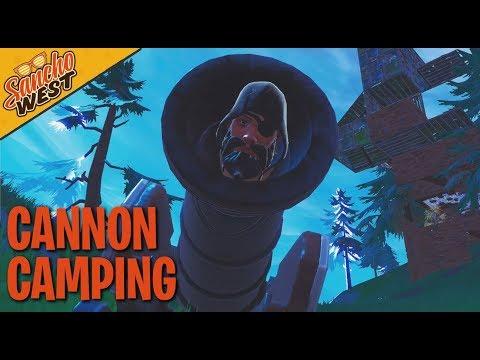 Fortnite  Season 8 Cannon Camping Dub
