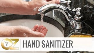 Hand Sanitizer or Hand Washing?