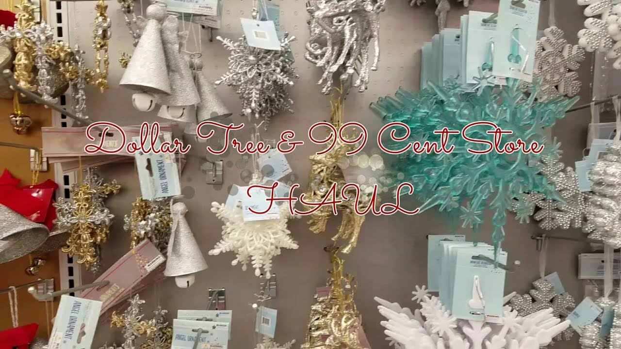 dollar tree haul99 cent store haul - 99 Cent Store Christmas Decorations