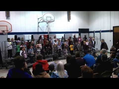 Feelhaver Elementary School Recital Kindergarten 7 Nov 14