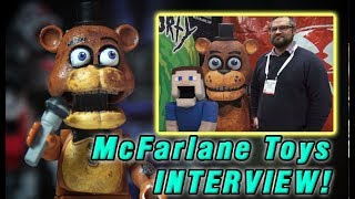 Five Nights at Freddy's McFarlane Toys FNAF Awesome Interview Wave 5, Twisted Ones, Pizzeria Game