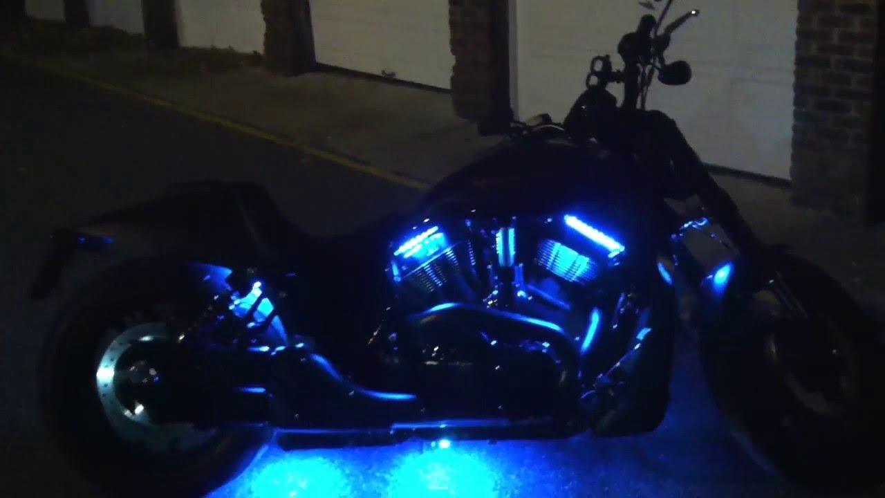 Harley Davidson Vrod Night Rod Special Custom Led Glow Kit