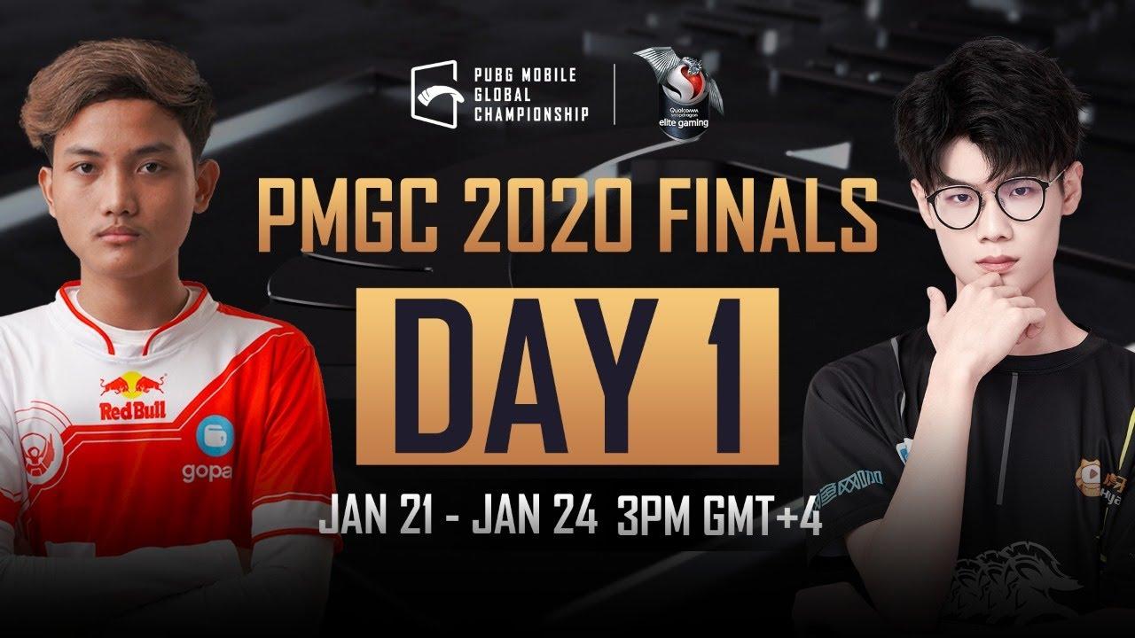 [EN] PMGC Finals Day 1 | Qualcomm | PUBG MOBILE Global Championship 2020