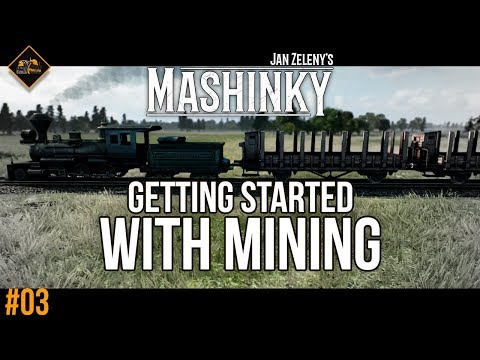 Getting started with mining in Mashinky - Transport Tycoon gameplay #3