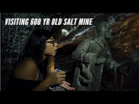 "Krakow ""Wieliczka"" Salt Mine Tour // Poland Vlog // Travelling Full Time"