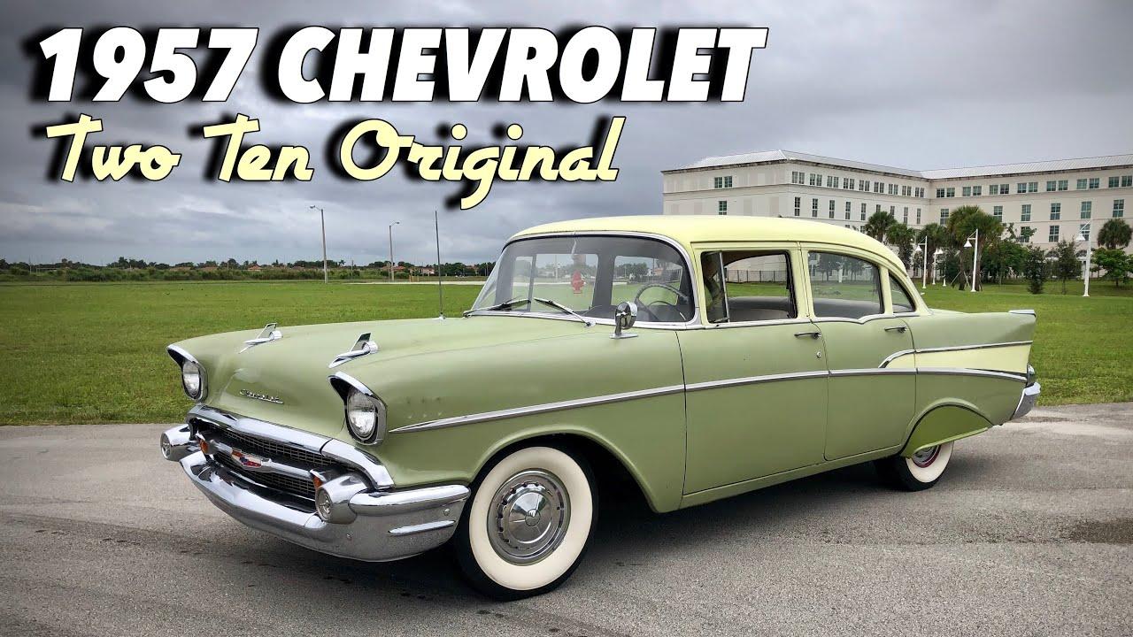 Original 1957 Chevrolet 210 Sedan - Generation Oldschool