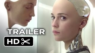ex machina official teaser trailer 1 2015 oscar isaac domhnall gleeson movie hd
