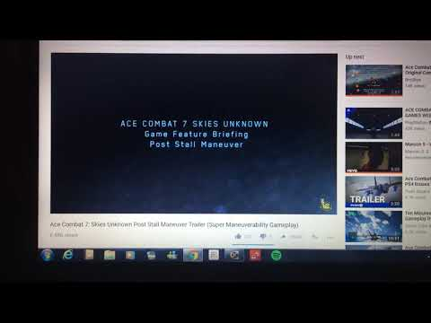 Ace Combat 7 Skies Unknown Post Manuver Stall