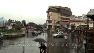 Central Point on a rainy day in Shillong, Cherrapunji
