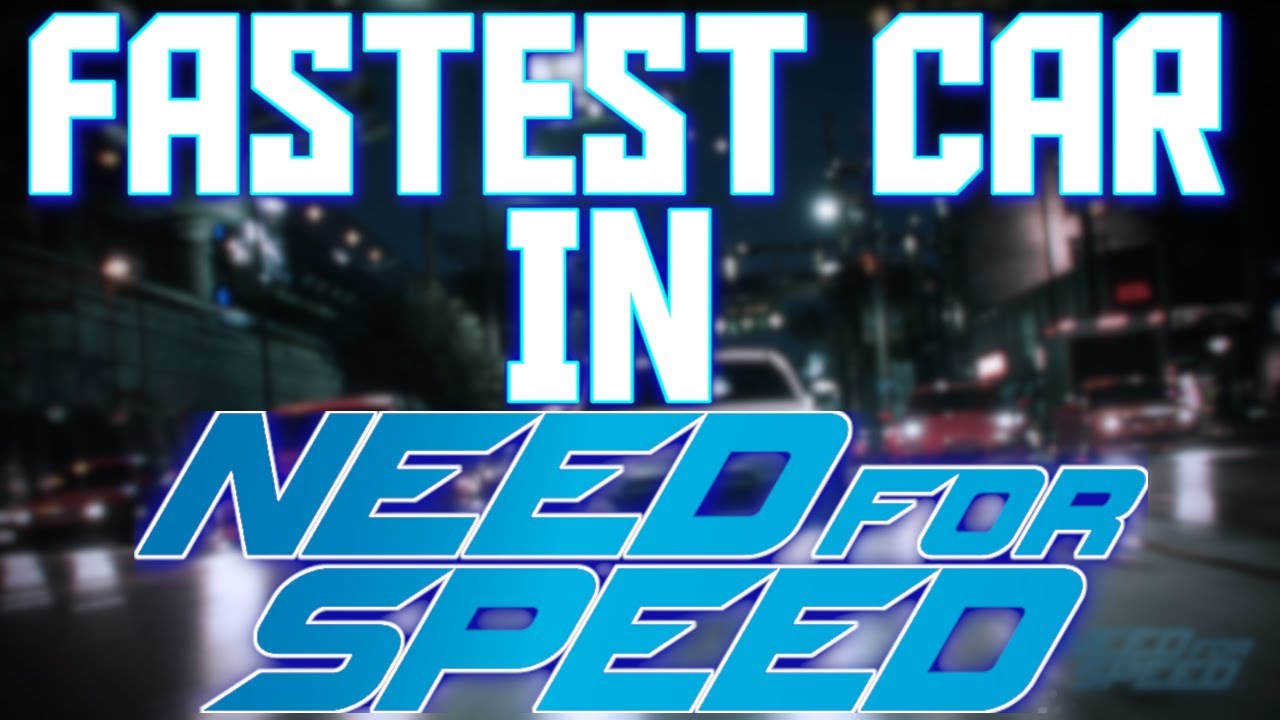 Fastest Car In Need For Sd 2017 Best Overall Race Drift Build You