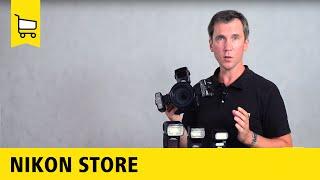 Nikon Store: Обзор вспышек и системы креативного освещения 16+