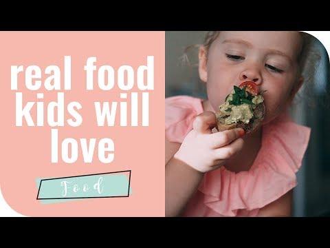 Real Food Kids Will Love | ANNABEL KARMEL