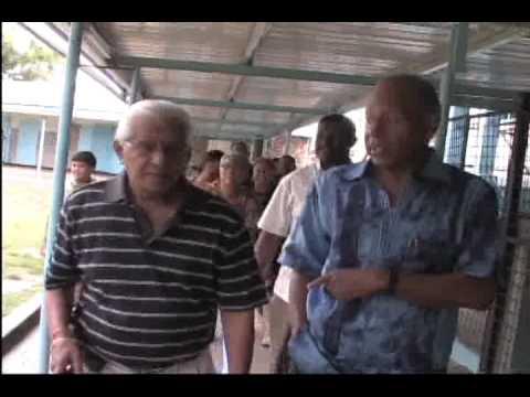 Trinidad and Tobago - Basdeo Panday and Patrick Manning Together