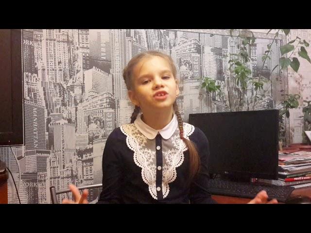 Изображение предпросмотра прочтения – ВероникаМалашенкова читает произведение «Зайчик» А.А.Блока