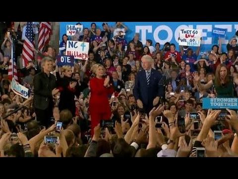 FULL SPEECH: Hillary Clinton, Bill Clinton FINAL RALLY in Raleigh, NC (11/7/2016)