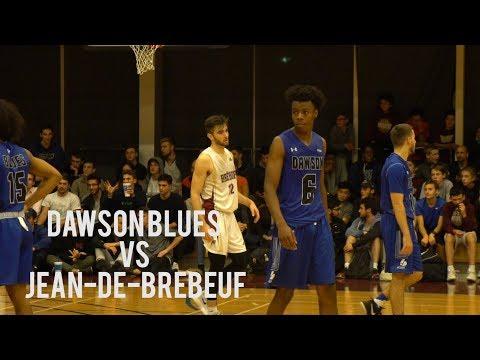 Dawson Blues vs College Jean-de-Brébeuf | CEGEP D1 Men | October 20 2017 | FULL Game Highlight