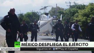 México despliega a militares en Michoacán tras la muerte de policías en una emboscada