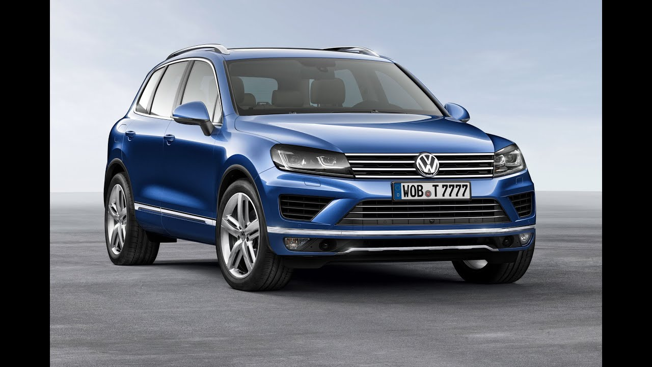2015 Volkswagen Touareg acceleration  YouTube