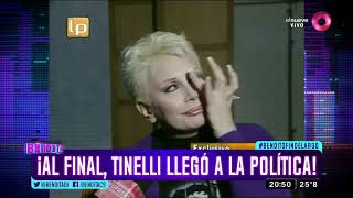 ¡Al final, Tinelli llegó a la política!