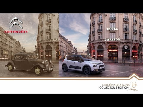 Citroën 'Origins' Collector's Edition – C1 / C3 / C3 Aircross / Cactus / C4 SpaceTourer / C-Elysée
