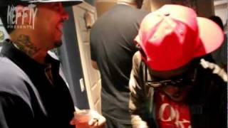 """French Montana @ Louwillville for Meek Mill & Young Chris """"House Party"""" Video Shoot"""