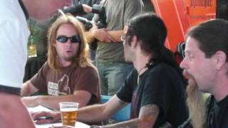 lamb of god knebworth sonisphere 2009 part 4 redneck, black label and signing tent