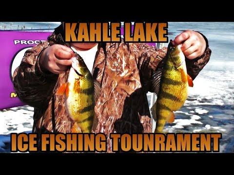 ICE FISHING TOURNAMENT KAHLE LAKE 2016 - Western Pennsylvania Hardwater Series  #2