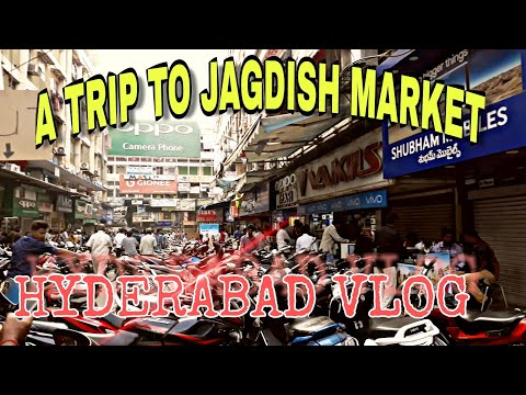 Jagdish Market Hyderabad biggest mobile market |Cheapest mob