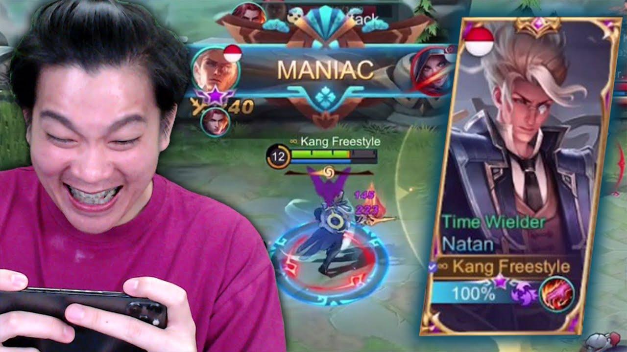 """Review Hero Khusus Buat Gw Jo""""Natan"""", Damagenya Terlalu Haram Boss! - Mobile Legends"""