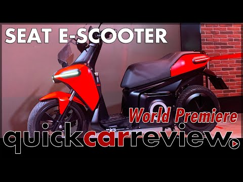 smart city expo 2019: Seat E-Scooter World Premiere in Barcelona | Review | Show | English
