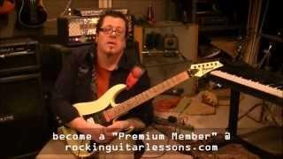 E minor legato shred riff by Mike Gross(rockinguitarlessons.com)