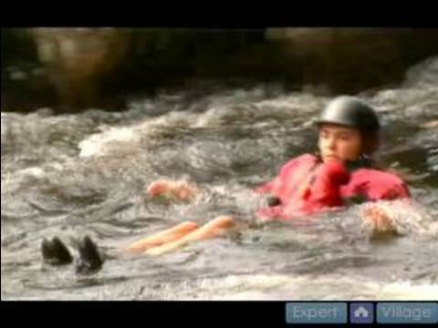 White Water & Swift Water Rescue Techniques : Defensive Swimming in Swift Water
