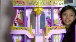 Кукла Барби гламурный пентхаус, Литл пони волшебный замок