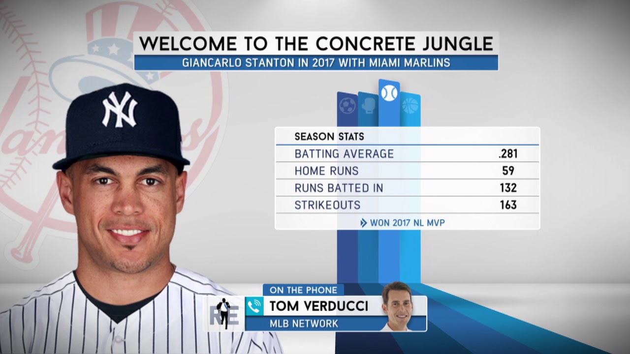 Tom Verducci On The Giancarlo Stanton Trade The Yankees Got A