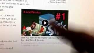 About my Wiki Site - Joe Winko