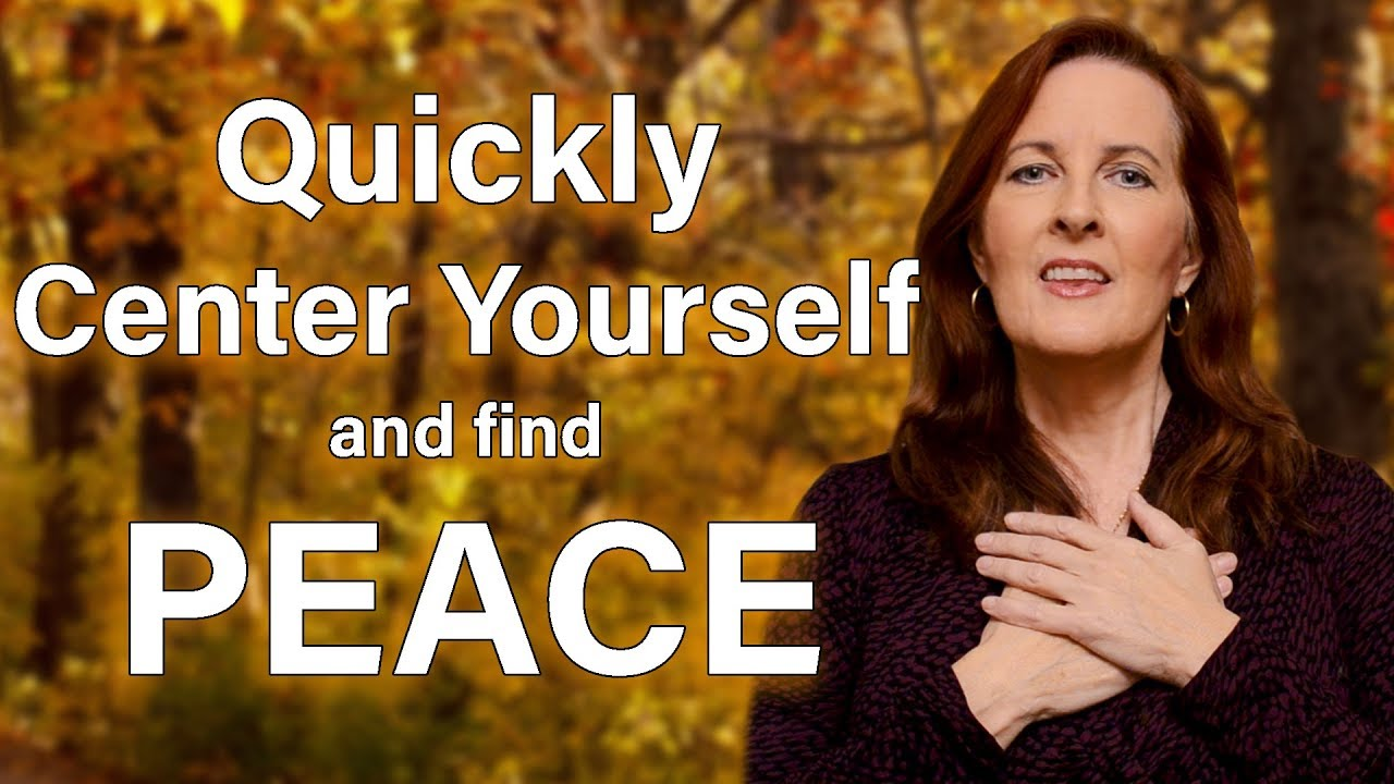 EFT Tapping | Quickly Re-Align and Center Yourself