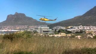 Water bomber helicopters - Cape Town Fire 2015