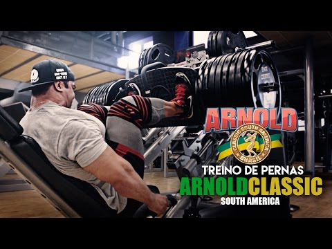 Arnold Classic South America: Treino Eduardo Correa , Branch Warren , Trish Warren e Raymond Johnson