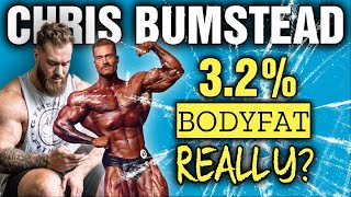 Chris Bumstead || 3.2% Bodyfat || On His Way to Another Olympia Title