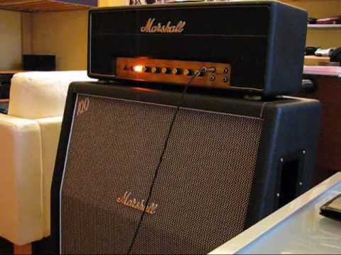 1968 Marshall Plexi 50 Watt