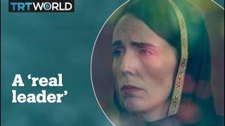 New Zealand's Prime Minister Jacinda Ardern garners international praise.