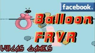 Balloon FRVR Un Juego a lo Flappy bird Juego Gratis Facebook y PC