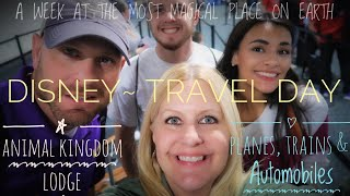 DISNEY WORLD VLOGS | Day 1| ANIMAL KINGDOM LODGE