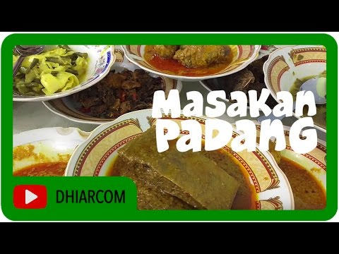 Padang Food, Masakan Padang khas Indonesia - YouTube
